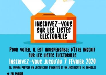Elections municipales : nouvelles modalités